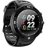OPTA SB-119 Ceres Fitness Watch with Triple GPS Positioning   Long Battery Life   IP68 Grade Outdoor Fitness Device  All Day Heart Rate and Activity Tracking Smart Band for Android & iOS (Black)