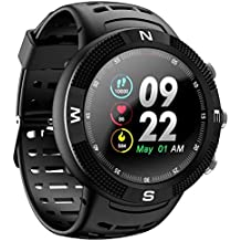 OPTA SB-119 Ceres Fitness Watch with Triple GPS Positioning | Long Battery Life | IP68 Grade Outdoor Fitness Device| All Day Heart Rate and Activity Tracking Smart Band for Android & iOS (Black)