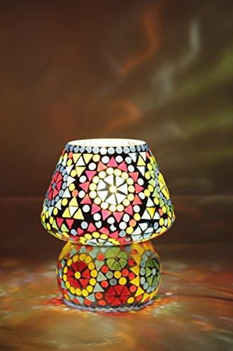 Table lamp Tiffany (Glitz), Hand made Table lamp, Ethnic Style, Mini