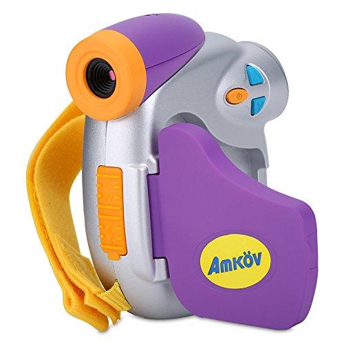 VBESTLIFE 5MP 1.5 Zoll Bildschirm HD Kinder Mini Digital Video Kamera Kinder Spielzeug Camcorder (Kunststoff-camcorder)