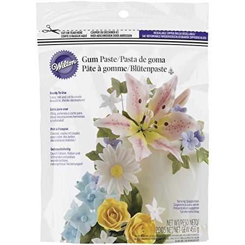 Wilton Gebrauchsfertige Blütenpaste, 1er Pack (1 x 450 g)