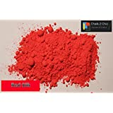 CP28–ml–fácil de seda rojo tiza pintura (látex Shabby Chic polvo pintura pigmento