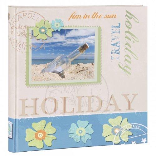 Henzo–Álbum de botella de álbum de fotos, 80páginas––Álbum de fotos (30,5x 30cm–Jumbo–Álbum Álbum de vacaciones–Álbum de viaje