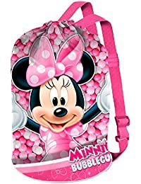 Karactermania Minnie Mouse Bubblegum Bolsas de Tela y de Playa, 40 cm, Rosa