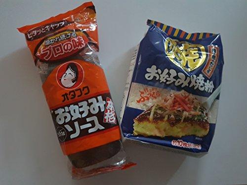 Okonomiyaki Zutaten Okonomi-Sauce Soße, Okonomiyaki-Mehl, Grundzutaten Rezept, Rezeptvorschlag
