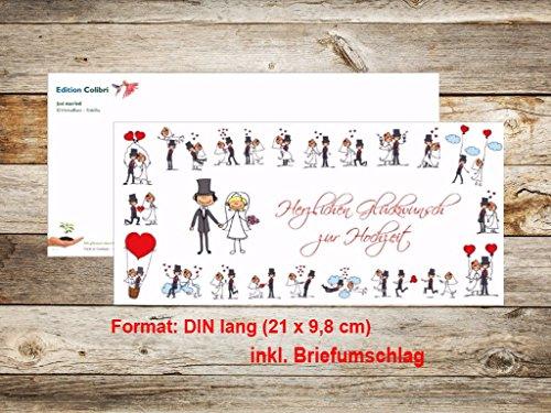 Auguri Matrimonio Busta : Edition colibri  biglietto di auguri per