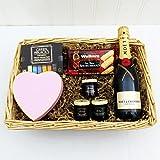 Moet Champagne Gift Basket with Deli - Regalo di compleanno, come ringraziamento bello, per il...