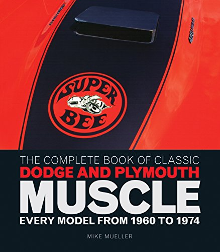 Complete Book of Classic Dodge and Plymouth Muscle: Every Model from 1960 to 1974 par Mike Mueller