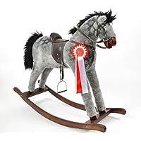 ALANEL Titan Sehr Hochwertiges Großes Schaukelpferd / Schaukeltier Handarbeit OVP (Dapple Grey) preisvergleich bei kleinkindspielzeugpreise.eu
