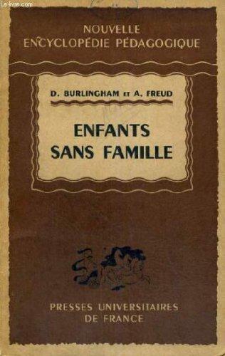 Enfants sans famille - nouvelle encyclopedie pedagogique - collection dirigee par p. joulia
