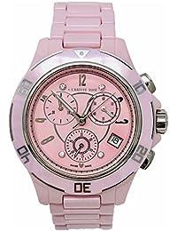 Cerruti 1881Diamond Mujeres Dial de reloj 36mm rosa con diamantes alta Tech Cerámica