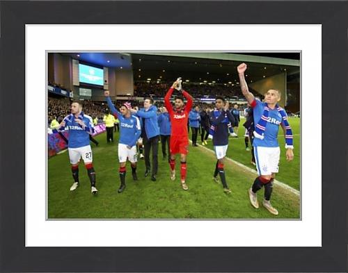 framed-print-of-soccer-ladbrokes-championship-rangers-v-dumbarton-ibrox-stadium