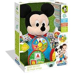 Clementoni Disney Peluche Interactivo Mickey Mi Mejor Amigo (55132.3)