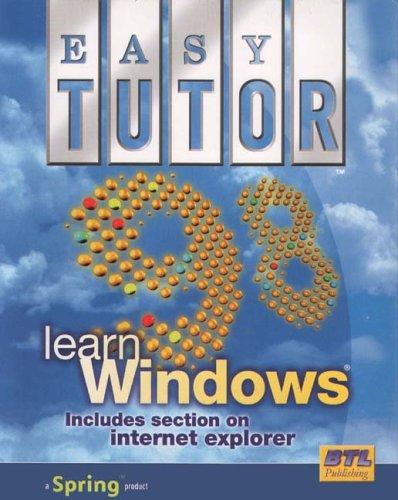 Easy Tutor: Learn Windows 98 Test