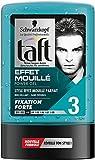 Taft–Gel para el cabello–Power Gel Efecto Mojado–Frasco 300ml