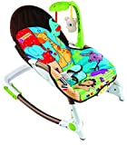 #6: Baybee Premium Quality Newborn-to-Toddler Portable Rocker Cum Bouncer With Soothing Vibration & Musical Toy ( Blue & Red )