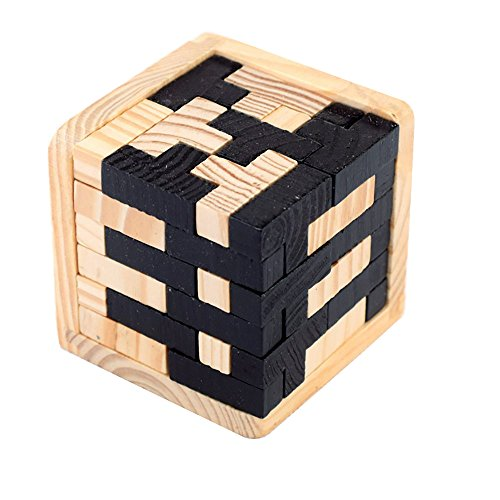 StillCool Puzzle di legno 3D Blocks Giocattolo educativo per i bambini Teaser...