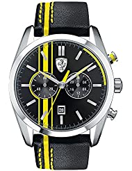 Ferrari De los hombres Scuderia Sport Chrono Analógico Dress Cuarzo Reloj 0830235