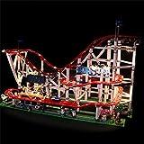 LPVIE LED-Licht-Kit Für 10261 Der Roller Coaster Unterstützte 15039 Stadt Creator DIY Beleuchtung Gesetzte Bausteine   Bricks Spielzeug (Nicht Sind Unter Anderem),Upgrademodels