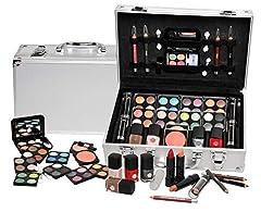 Idea Regalo - Makeup Trading Schmink Set Alu Case Paletta De Ombretti - 74.5 gr