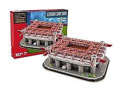 Idea Regalo - Giochi Preziosi- San Siro AC Stadio Ssiro Milan 15126 Personaggi Playset iLI Gioco 493, Multicolore, 8001444151268