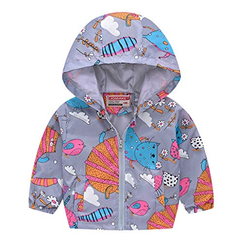 Lookhy Boys Jacke,Kinder Kapuzenjacke Langarm Camouflage Cartoon Print Jacke Top Baby Jungen Pullover Sweatshirt Kinder Dick Warme -