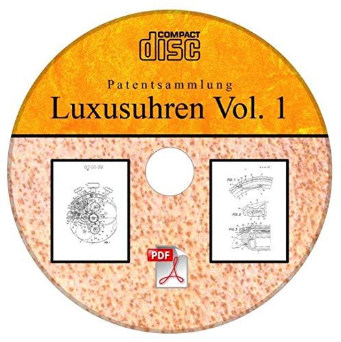 Rolex Uhren, Luxusuhren, 66 deutsche Patente auf CD