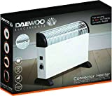 Daewoo Branded Convector Heater 2000w - White