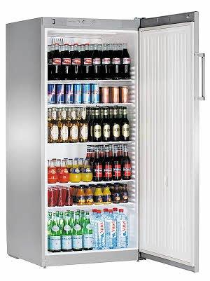 Liebherr FKvsl 5410Premium autonome Silber Kühlschrank Getränkespender-Kühlschränke Getränkespender (autonome, silber, 6Einlegeböden, rechts, R600a, 1-15°C)