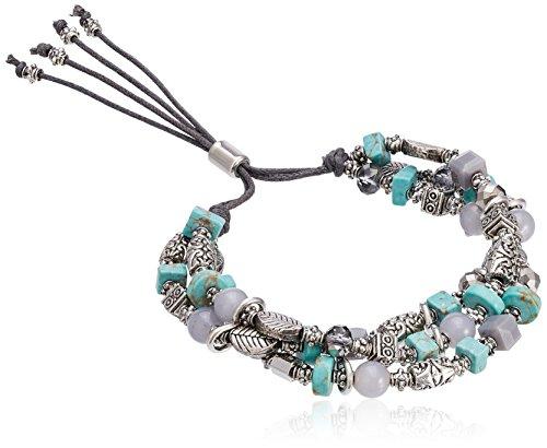 accessorize-damen-suki-schnur-armband-mit-perlen-einheitsgrosse
