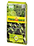 Floragard Bio Kräuter- und Aussaaterde 5 L, torfreduzierte Bio-Erde mit Perlite f. Aussaaten, Jungpflanzen u. Kräuter wie Basilikum, Thymian, Oregano, Lavendel