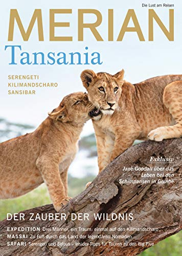 MERIAN Tansania 10/19 (MERIAN Hefte)