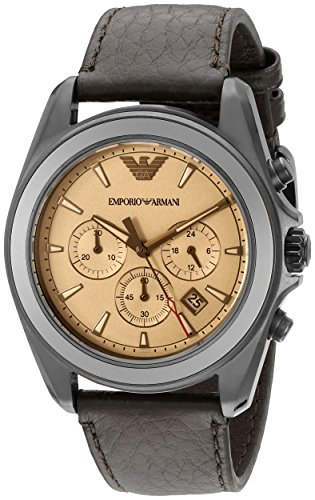51PQfcPPwRL - Emporio Armani AR6070 Chronograph Silver Mens watch