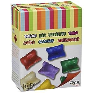 Cayro-854 Juego de Las Tabas +6 años, Multicolor (854)