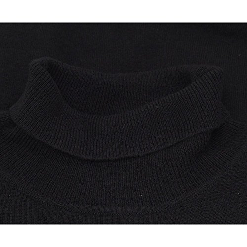 Farah Vintage Homme Mcpate Roll Neck Knit, Noir Noir