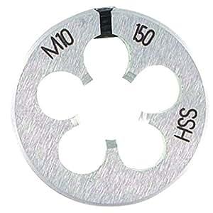 Filière ronde extensible acier HSS - Diamètre 7 (Pas 100)