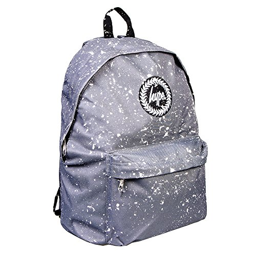 Hype Uomo Zaino Logo Speckle, Blu Grey/White