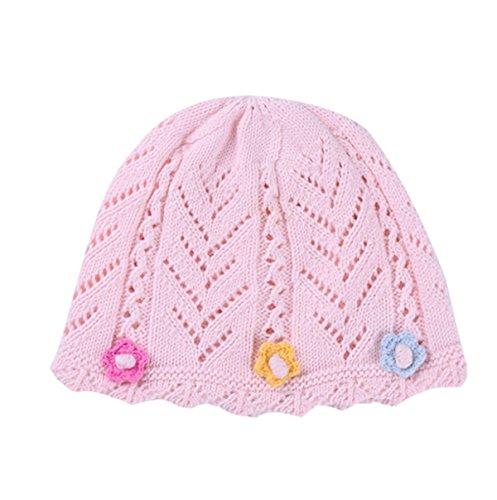2017 Printemps Et En été La Version Coréenne Dames Modèles Créatifs Coton Bébé Chapeau Coton Casquette De Pneus Bonnet Tricoté 3#LightPowder