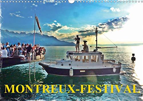 MONTREUX-FESTIVAL (Calendrier mural 2020 DIN A3 horizontal): La grande fête annuelle de la musique de Montreux (Calendrier mensuel, 14 Pages ) (Calvendo Places)