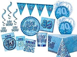 Unique Party Party Kit Color azul 63768