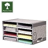 Bankers Box R-Kive System Organizzatore da Scrivania, Grigio/Bianco