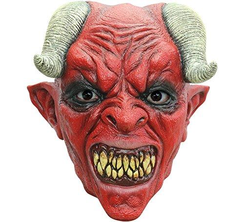 Teufel Halloween Krampus Maske aus Latex