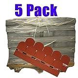 5er Pack Dachschindeln Bieberschwanz Rot 17,5 m² Profi