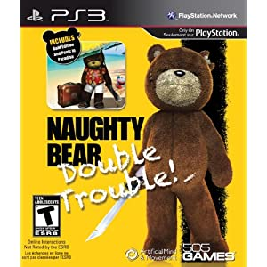 505 Games – Naughty Bear Gold – Double Trouble (#) /PS3 (1 Games)