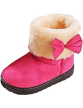 Kobay Mode Bowknot Winter Baby-Stil Baumwollstiefel Warm Schneestiefel