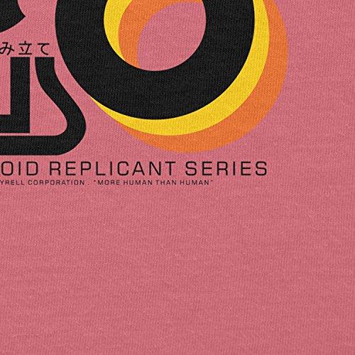 NERDO - Nexus 6 Personalized Humanoid Replicant Series - Damen T-Shirt Pink