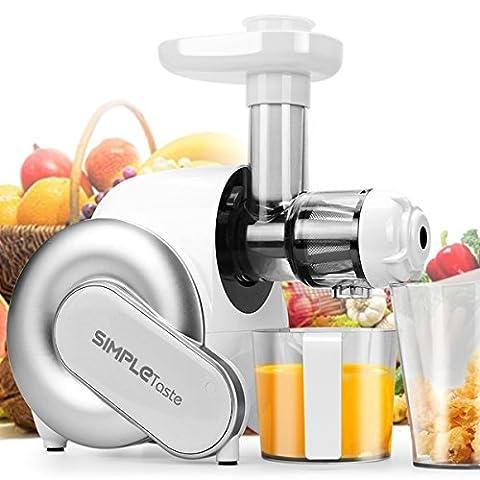 SimpleTaste-extractor-de-zumo-elctrico-licuadora-exprimidor-de-frutas-y-verduras-blanco