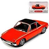 Porsche 914 VW Volkswagen 914 Rot 1969-1976 H0 1/87 Wiking Modell Auto