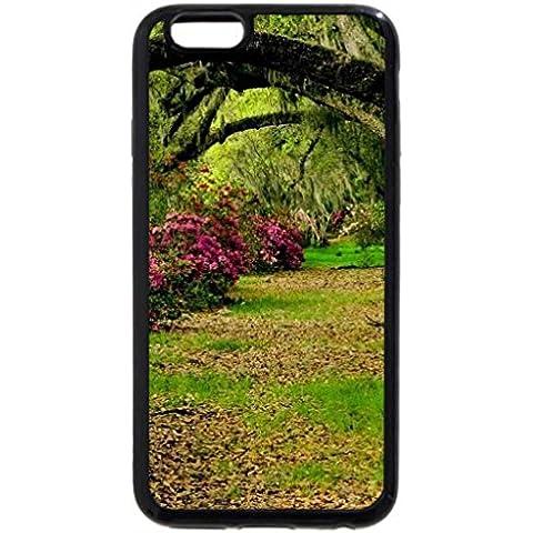 iPhone 6S Plus Funda, iPhone 6Plus, Azaleas de jardín