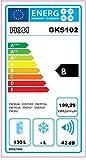 PKM Hausgeräte Getränkekühlschrank GKS102, weiß - 3